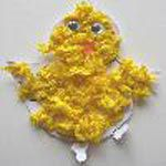 Petit poussin jaune