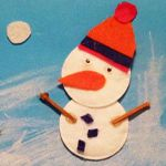 Tableau de bonhomme de neige