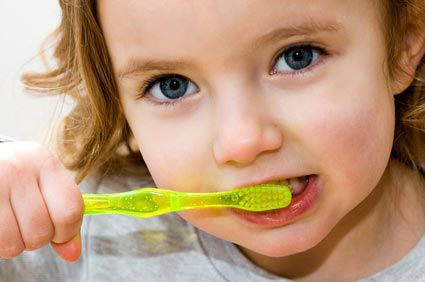 Les dents de lait de bébé