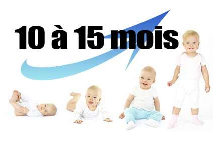 Le développement de l'enfant de 10 à 15 mois