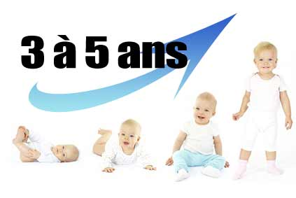 développement bébé 3 à 5 ans