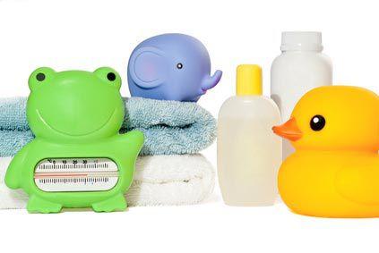 Accessoires de bain bébé BIO @