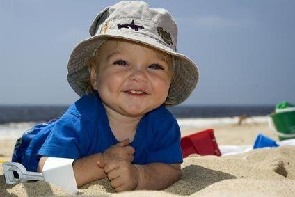 bebe enfant vacances
