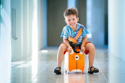 Première vacances de votre enfant